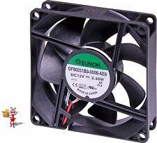 80mm 12VDC IP68 Sleeve Bearing Fan