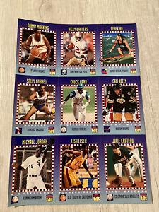 Michael Jordan Baseball Sports Illustrated For Kids June 1994 Uncut Sheet Mint