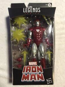 Hasbro Marvel Legends Series Walgreens Exclusive Iron Man Silver Centurion