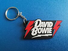 DAVID BOWIE KEY-RING SILICONE RUBBER MUSIC FESTIVAL