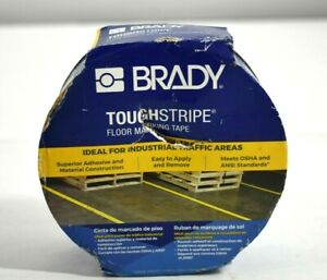 Brady ToughStripe High Traffic Blue Floor Marking Tape 2 Inch x 100 Ft Roll