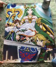 Club Nintendo - Super Smash Bros. Poster Set - Palutena, Villager, & Rosalina