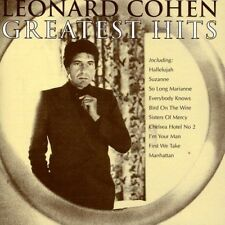 LEONARD COHEN ~ GREATEST HITS / BEST OF NEW SEALED CD HALLELUJAH, BIRD ON A WIRE