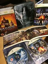 Mass Effect-limited collector's Edition Xbox 360 Game-COMPLET