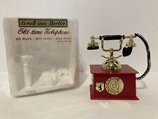 Grub Aus Berlin Old Time Telephone Music Box German