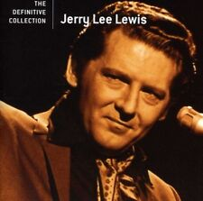 JERRY LEE LEWIS THE DEFINITIVE COLLECTION REMASTERED CD NEW