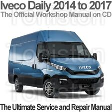Iveco Daily 2014 to 2017 Workshop, Service and Repair PDF Manual on CD