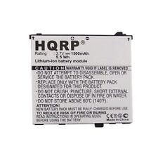 HQRP 1500mAh Battery for Acer Liquid A1, E, E Plus, E400, S100, Stream