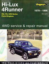 GREGORYS WORKSHOP REPAIR MANUAL TOYOTA HILUX RN YN VZN