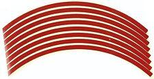 """17"""" Rim tape reflective red Suzuki GSXR GSX-R 1000 750 600 Hayabusa #RT17RD#"""