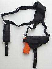 Gun Shoulder Holster for RUGER LC9 with Underbarrel Laser & Single Mag Pouch