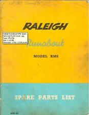 Raleigh Runabout RM6 Spare Parts List on CD