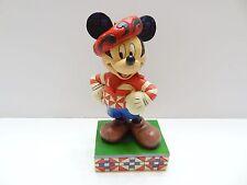 NIB Jim Shore Disney GREETINGS FROM FRANCE Mickey Mouse Figurine 4043628 Enesco
