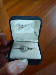 1/2 carat Diamond Engagement Ring White gold