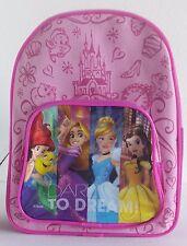 Disney Princess Activity Mini Backpack Coloring Paint Art Fun Pink Girls NEW