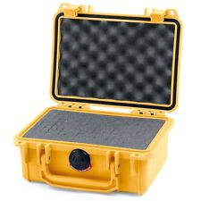 Pelican Yellow & Yellow 1120 case  -  With Foam