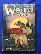 WEIRD TALES. SEPTEMBER, 1944 - FIRST EDITION SIGNED BY CONTRIBUTOR RAY BRADBURY