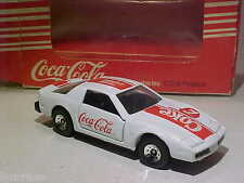 3 INCH Pontiac Firebird 1988 Coca-Cola Hartoy 1/64 Diecast Hong Kong Mint in Box