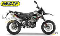 TERMINALE DI SCARICO ARROW ALLUMINIO APRILIA RX / SX 125 18 20 OMOLOG EURO4