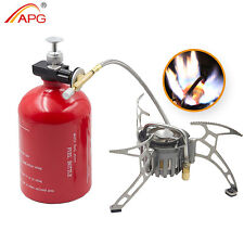 Outdoor Portable Camping Stove Picnic Gasoline Propane Gas Multi Fuel Stoves APG