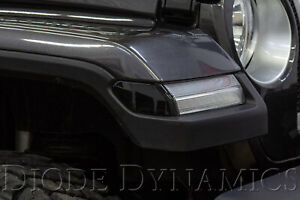 Smoked LED Sidemarkers for 2018-2019 Jeep JL Wrangler (pair) Diode Dynamics
