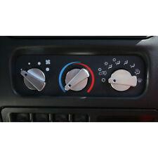 For Jeep Wrangler Tj 99-06 Billet Control Knobs Blue Dot  X 11420.03