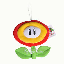 "Fire Flower 6.5"" New Super Mario Bros. Plush Doll Stuffed Toy"