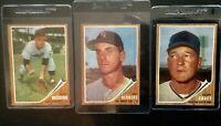 1962 Topps Baseball Set Builder - Singles - EX+  Nice Cards; Pick Em  Santo