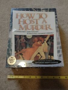How to Host A Murder Dinner Party Game Saturday Night Cleaver Episode 15 - NEW