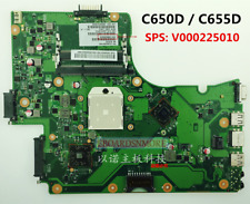 V000225010 AMD Motherboard for Toshiba Satellite C650D C655D,free CPU, Grade A