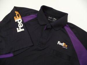 B12 FedEx Ground Stan Herman Employee Polo Short Sleeve Shirt Size XXL