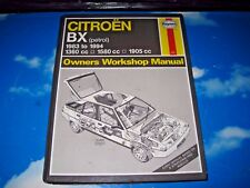 Haynes Workshop Manual Citroen BX 1983 - 1995 Petrol