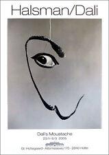 Philippe Halsman Salvador Dali DALI'S MOUSTACHE Poster 39-1/4 x 27-1/2