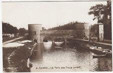 BELGIUM - Tournai - Le Pont das Trous - c1910s era Real Photo postcard
