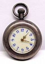 "Antique Lds Silver BEAUTIFUL "" Art Deco ""  Pocket Watch - 28 mm"