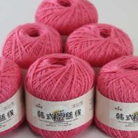 AIP Thread No.8 Cotton Crochet Yarn Craft Tatting Hand Knit Embroidery 50gX6 #03