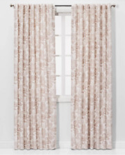 "Charade Floral Light Filtering Curtain Panel Threshold Pink 84"" x 54"""