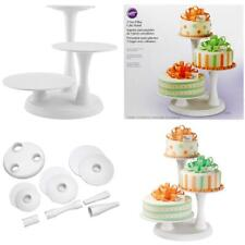 Wilton 3-Tier Pillar Style Cake and Dessert Stand, Great for Displaying...
