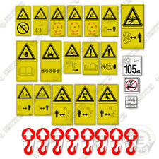 Komatsu Wheel Loader Safety Decal Kit