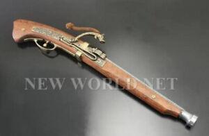 imitation Samurai matchlock gun arquebus Tanegashima rifle Replica display denix