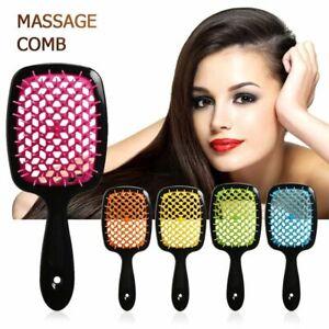 Wide Teeth Air Cushion Combs Women Scalp Hair Brush Salon DIY Hairdressing Tool