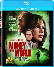 ALL THE MONEY IN THE WORLD  - Region free - BLU RAY - Sealed