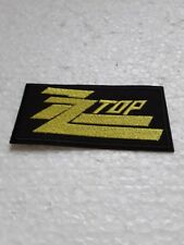 écusson, patch zz top 10/5cm
