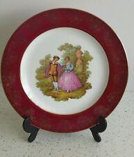B & Co. Limoges Porcelain Plate - La Reine A11R 22kt Gold