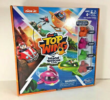 Hasbro Nick Jr TOP WING Island Rescue GAME Swift Penny Brody Rod Race Mission