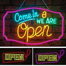 Usa Open Business Sign Ultra Bright Led Silicone Light Strip On/Off Switch Neon
