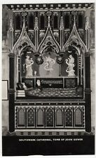 London; Southwark Cathedral, Tomb Of John Gower RP PPC