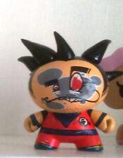 """Kidrobot - Dunny Dragon Ball Z Goku Custom by CTW - 3"""" Figure / 8cm Figurine DBZ"""