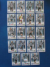 Topps Match Attax Cards - Lot 0f 19 - Newcastle United - 2007/08 - Red Back