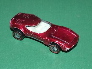 Vintage Hot Wheels Diecast Redline Toreno, Cherry Red, 1969 USA